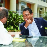 Jerry Tardieu gives hope to young entrepreneur at Haiti numerique 2030